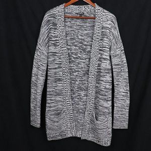 EXPRESS BLACK AND WHITE CARDIGAN